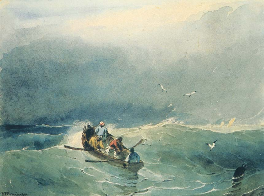 Richard Parkes Bonnington, watercolour. painting