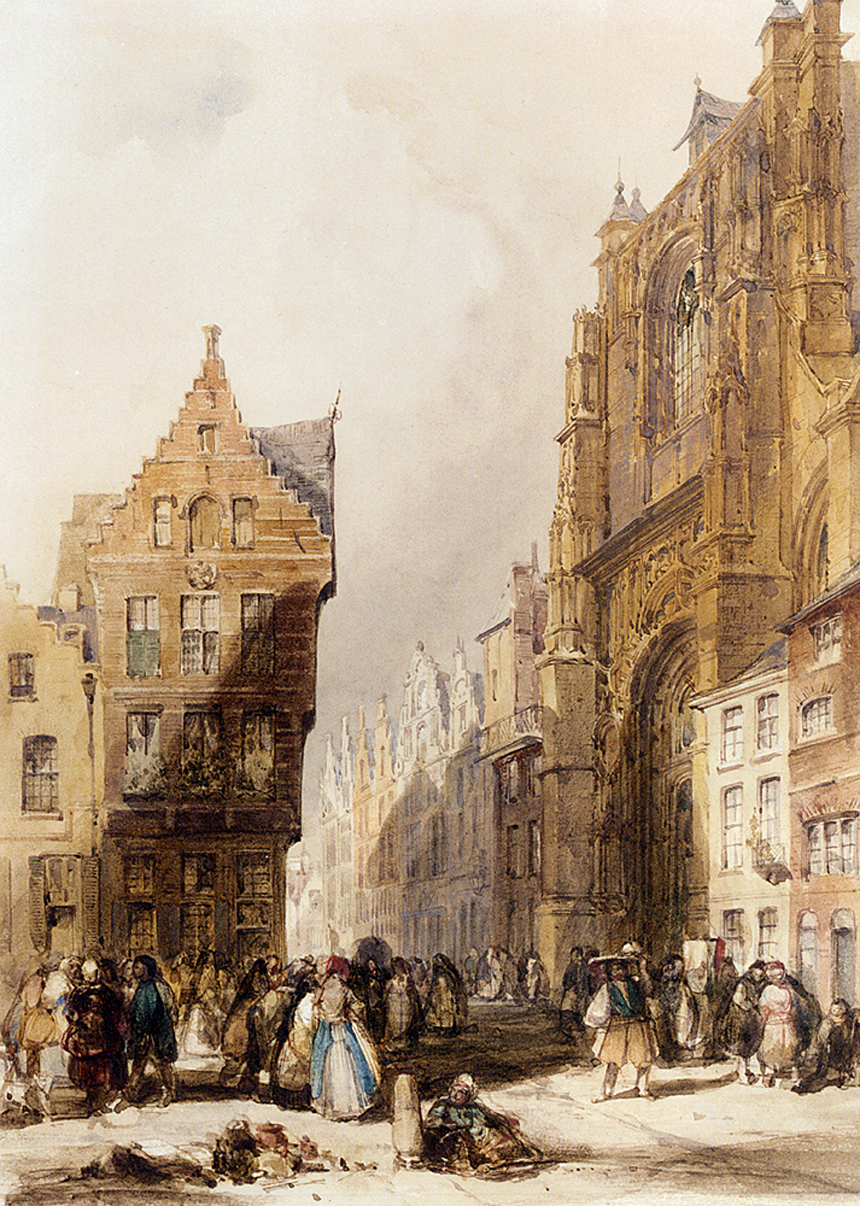 Thomas Shotter Boys, watercolour