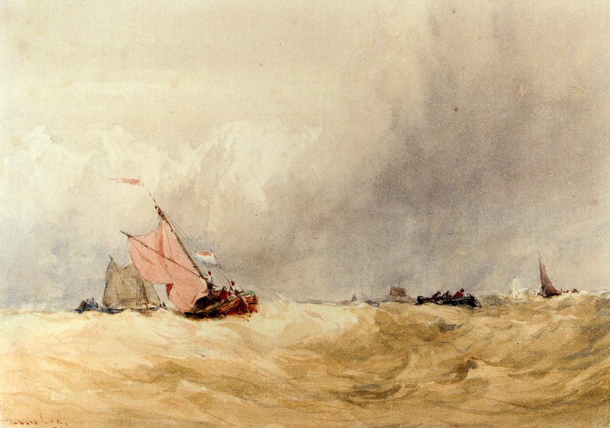 David Cox, watercolour