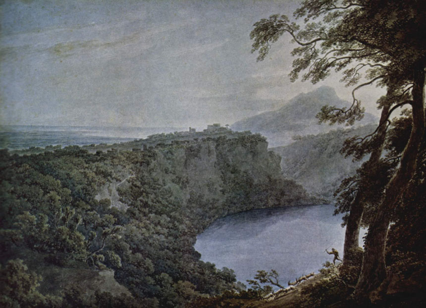 Watercolour, Cozens