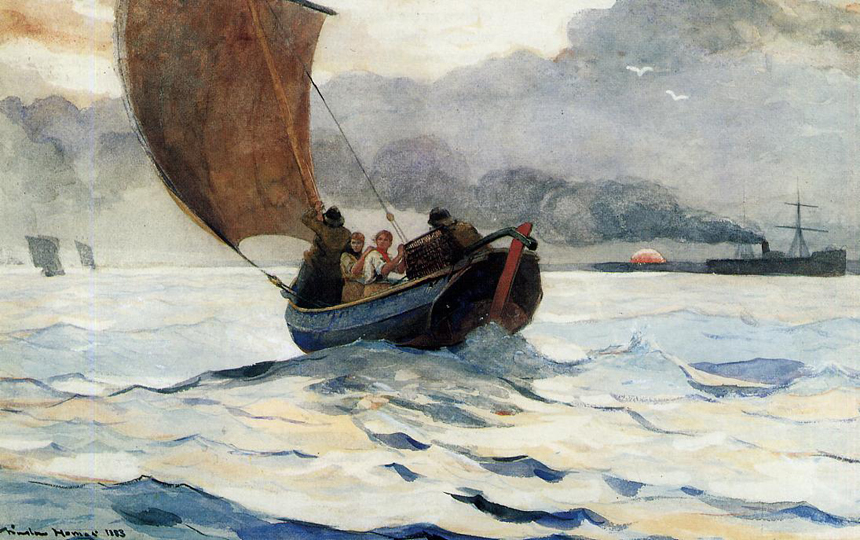 Winslow Homer, watercolour