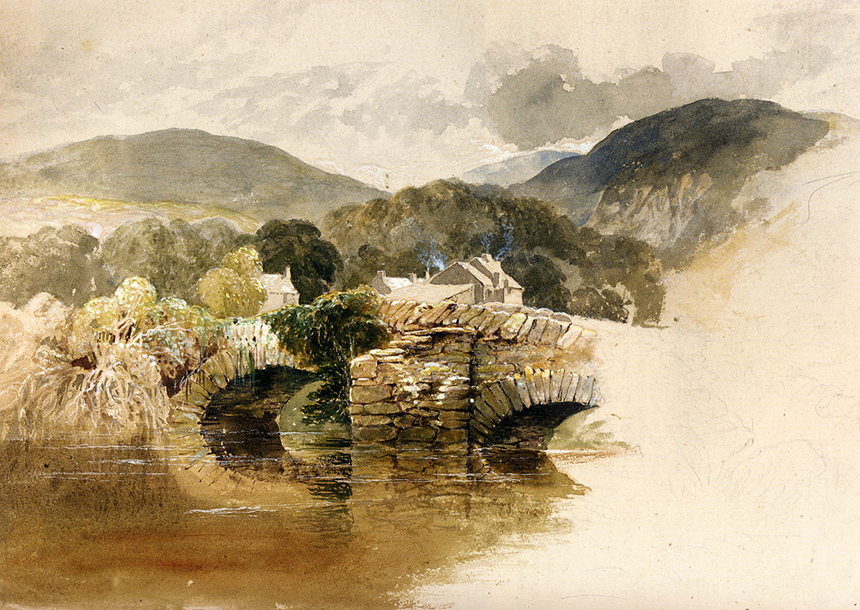 Samuel Palmer, watercolour