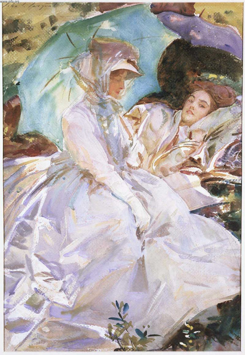 Singer Sargent, watercolour
