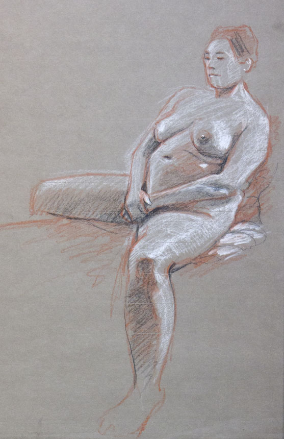 Life drawing, Rob Adams