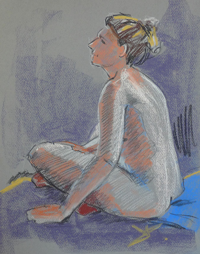 nude, life drawing