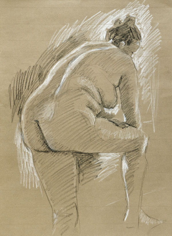 Life drawing, figure
