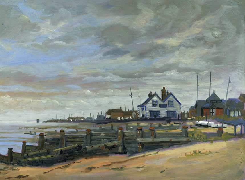 Whitstable, Painting, oils, plein air