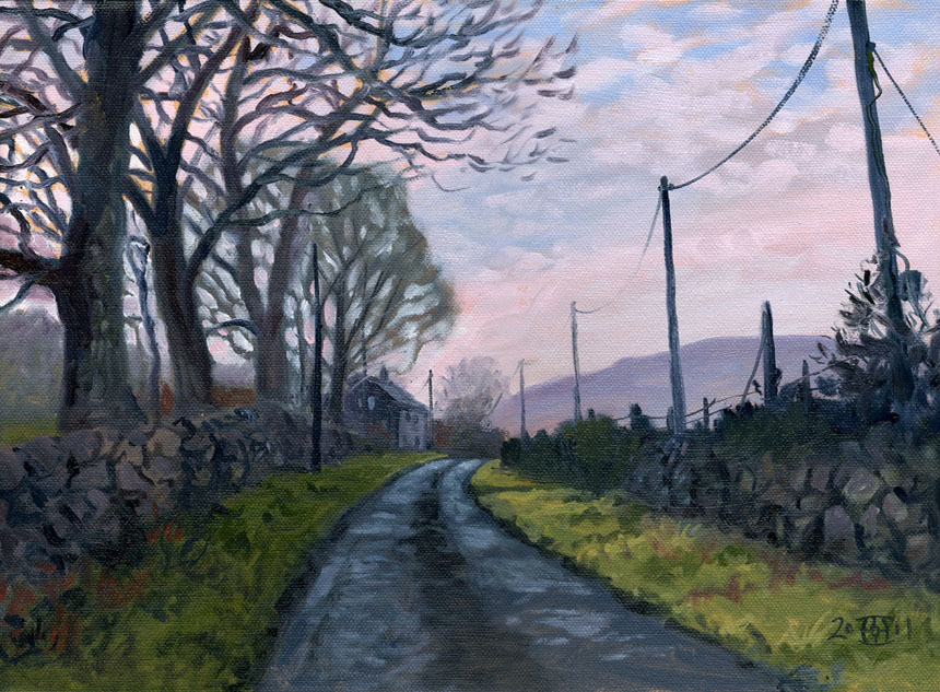 Ireland, Eire, Oils, Plein air, Painting, Clare, Rob Adams