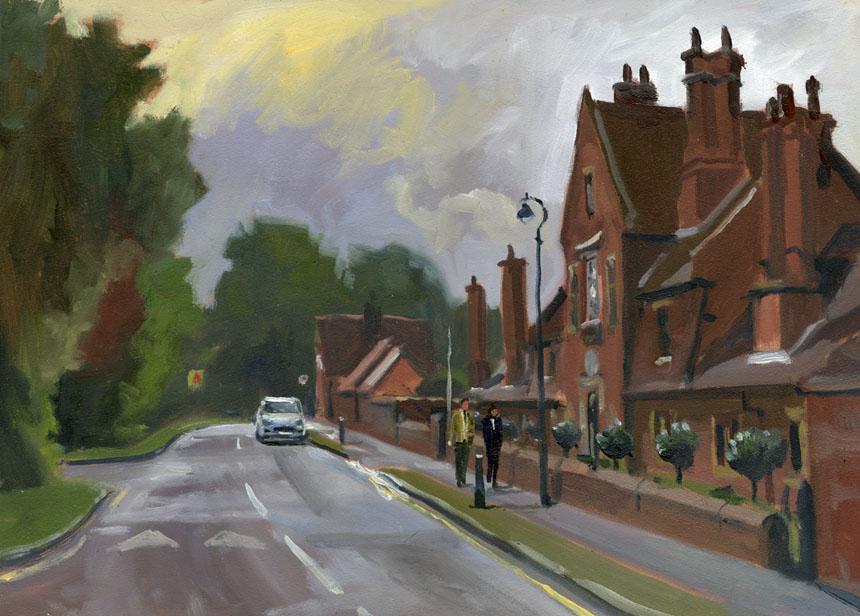 Bray, plein air, oils, painting