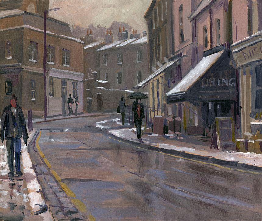 Royal Hill, Greenwich, Plein Air