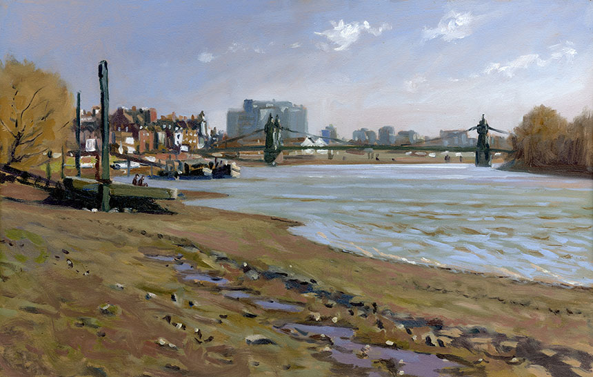 Hammersmith Bridge, thames , London