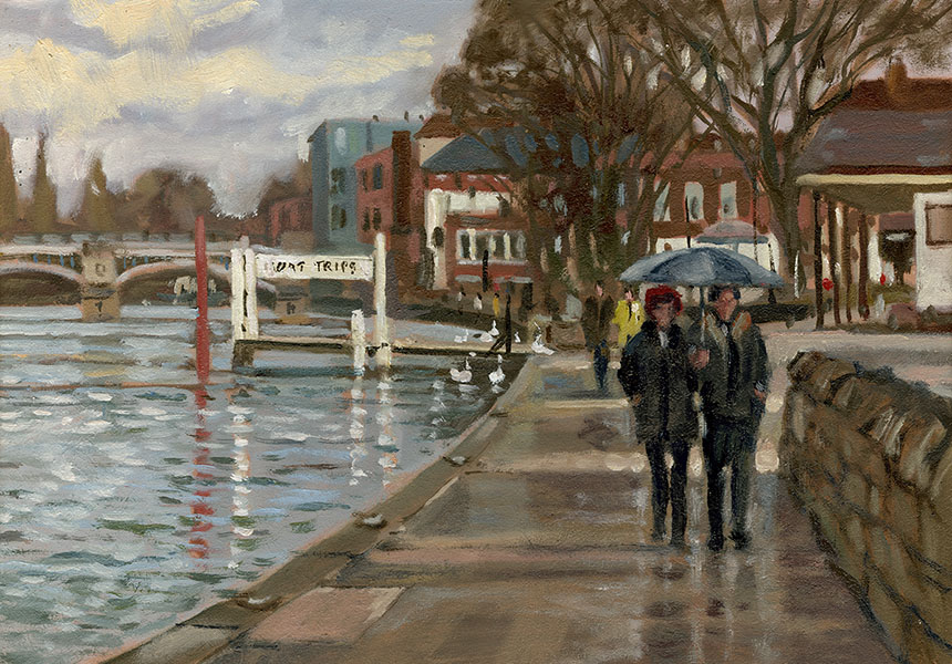 Windsor, Thames, Plein air