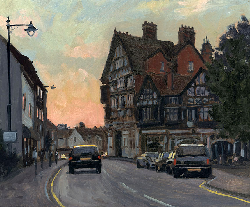 Henley, plein air, oil painting