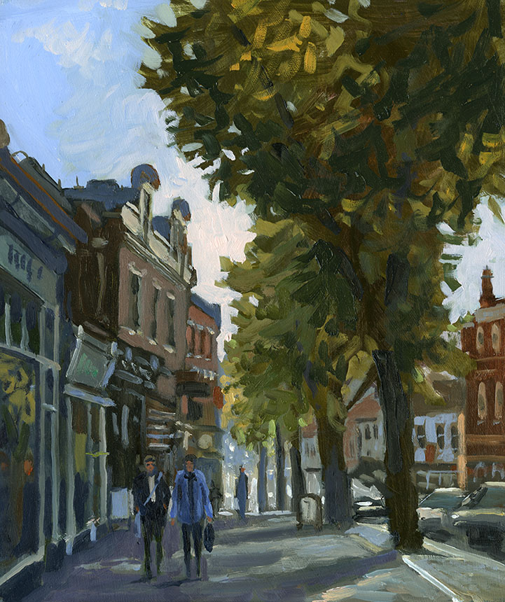 Blackheath, Plein air, London, Brassmonkeys, oils, London