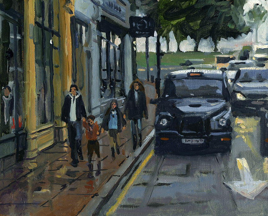 Blackheath, London, Plein air, Painting