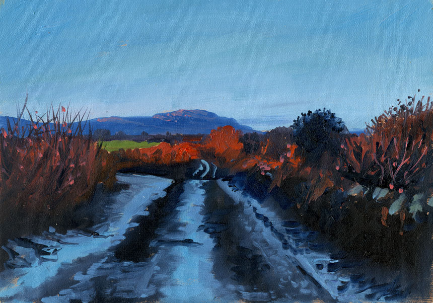 Ireland, Clare, oil, painting, plein air