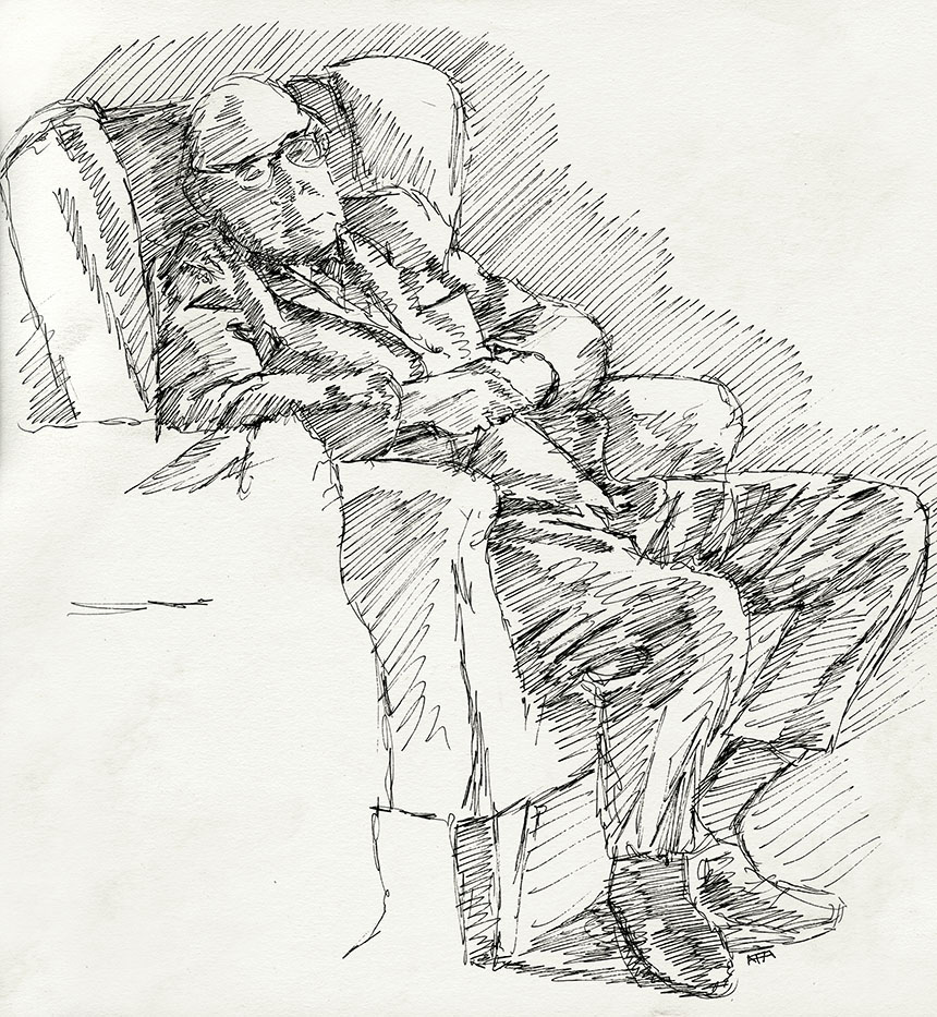 Father Sleeping