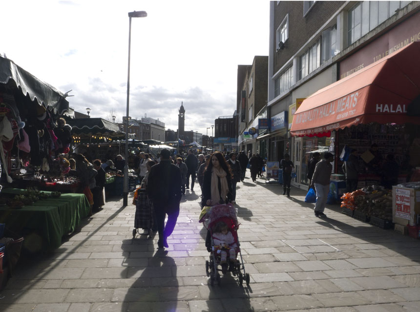 lewisham, market, London