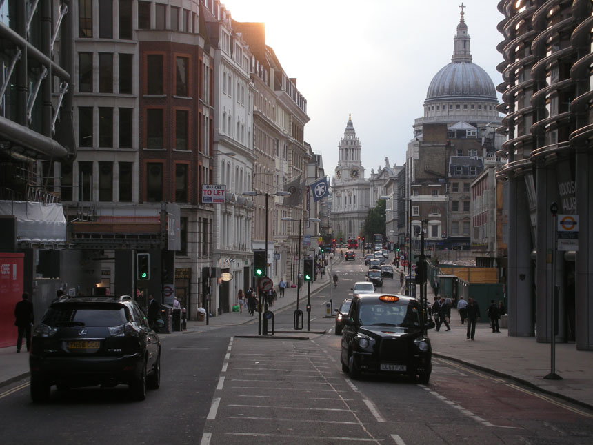 London, st pauls, cannon st