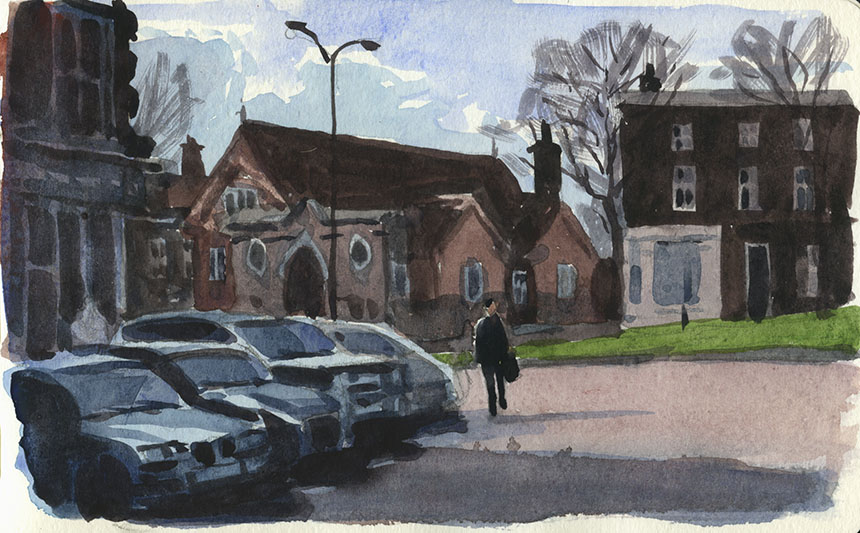Blackheath, watercolour