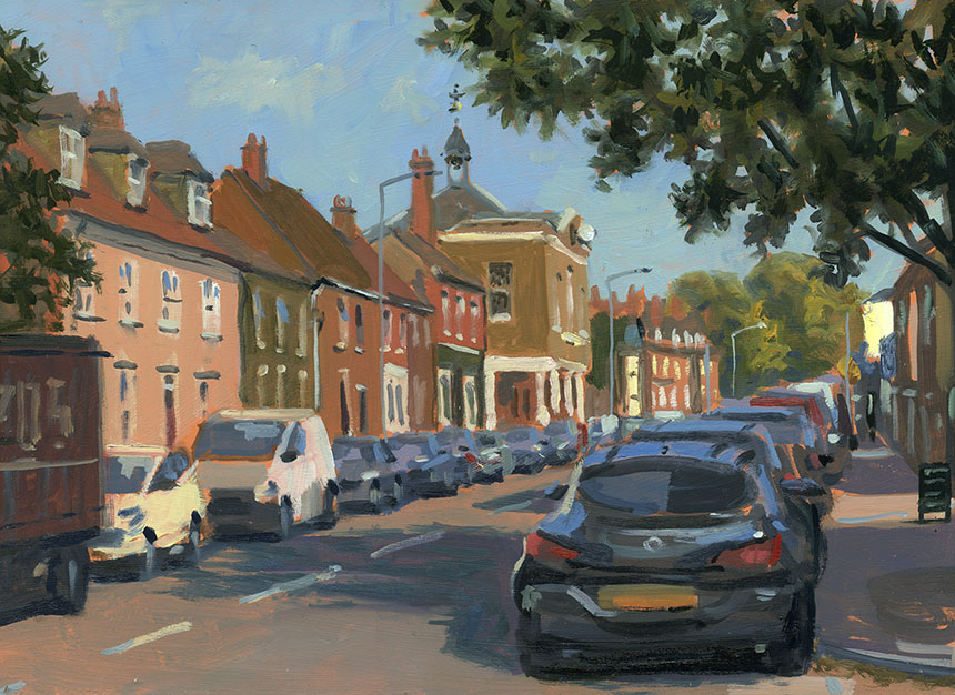 Queenborough, Sheppey, Kent, Oils, Brass Monkeys, plein air
