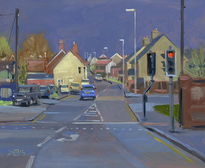 Sturminster Newton, oil painting, Dorset