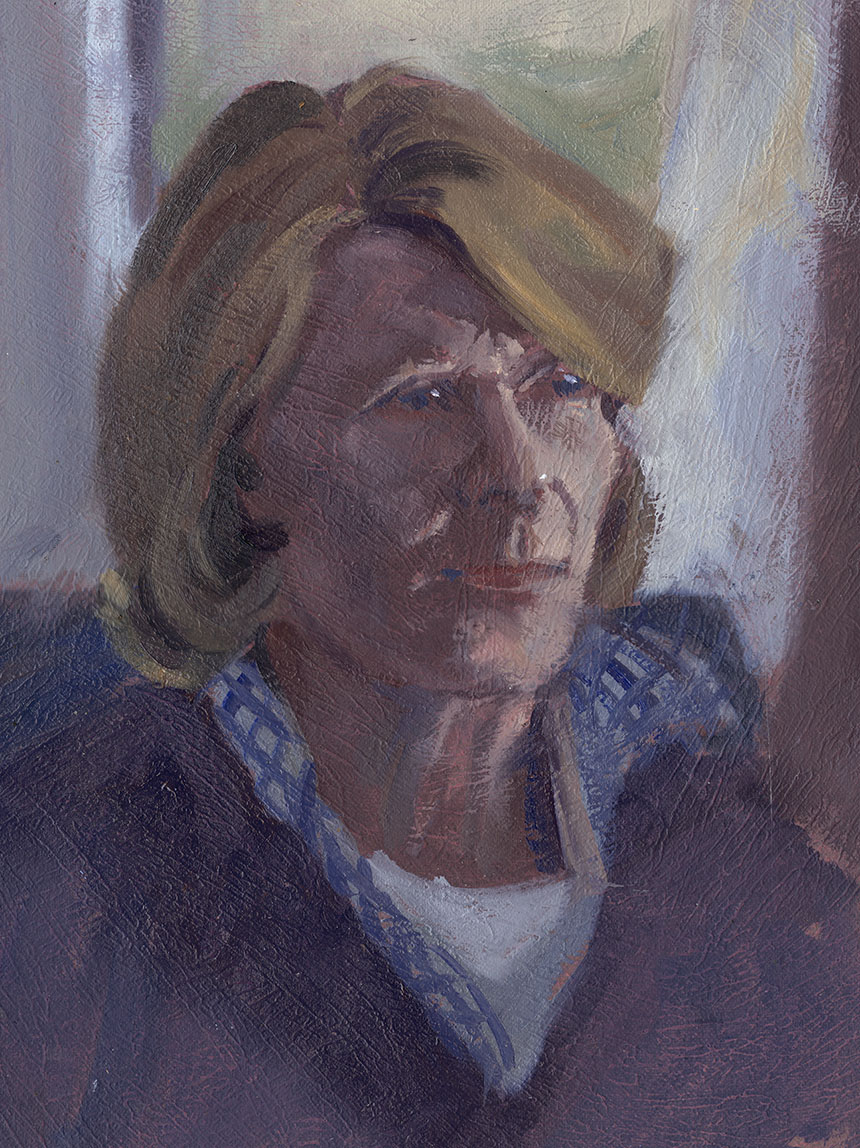portrait, oil painting